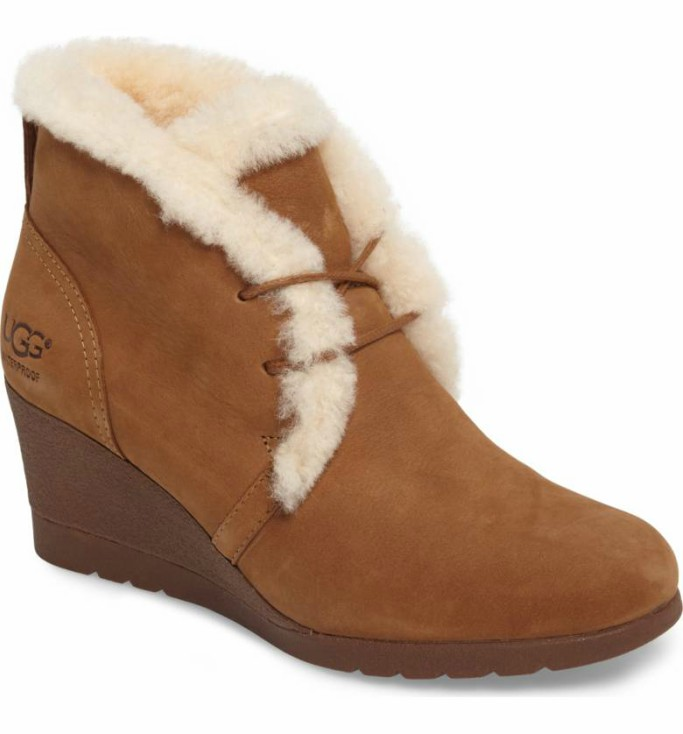 ugg Jeovana Genuine Shearling Lined Boot