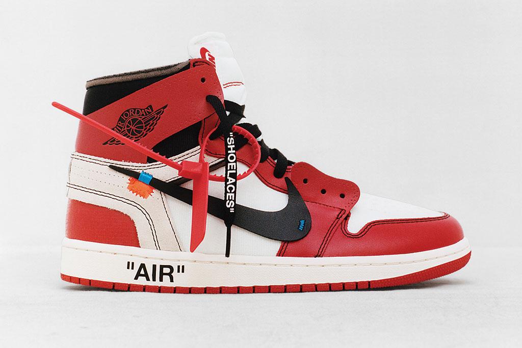 Virgil Abloh Air Jordan 1 Nike The Ten