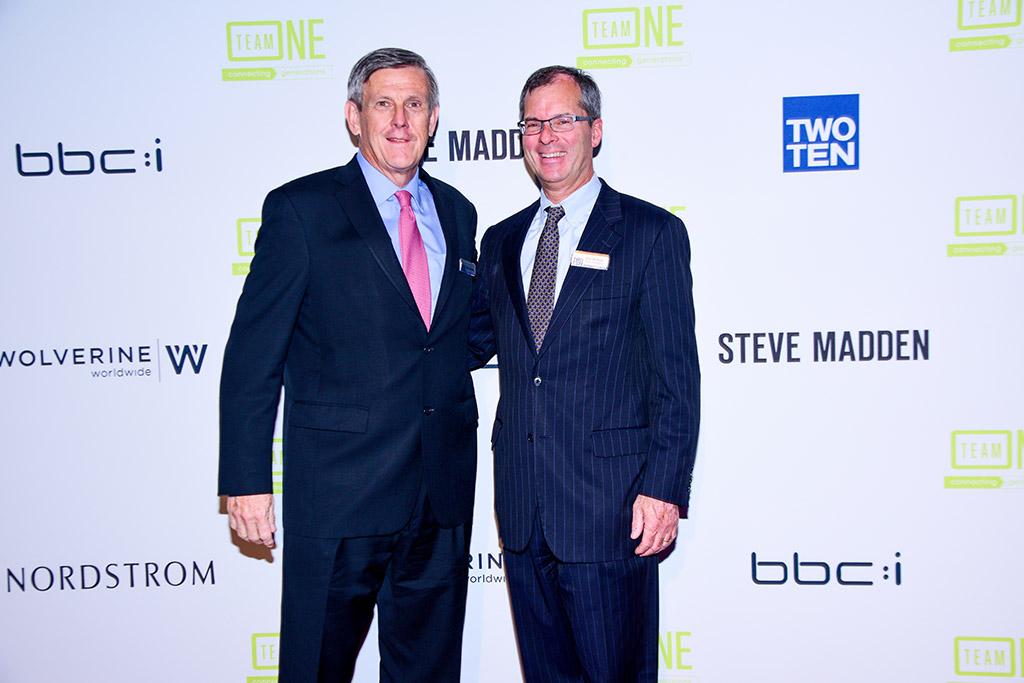 Dick Johnson, Bob McHue, 2017 Annual Two Ten Gala