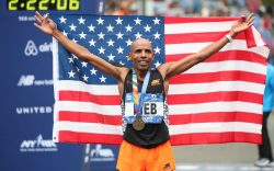 meb Keflezighi, new york marathon, skechers
