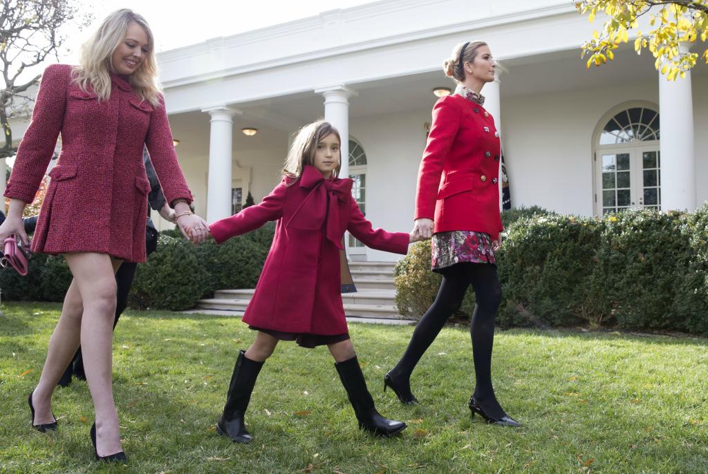 Tiffany Trump, Arabella Kushner, Ivanka Trump, Tiffany Trump