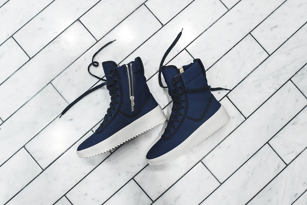 Kith x Fear of God military sneaker