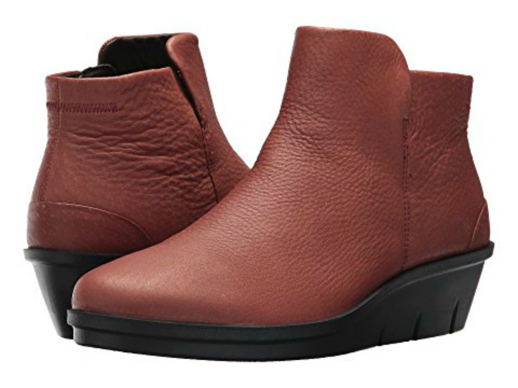 ecco skyler wedge booties