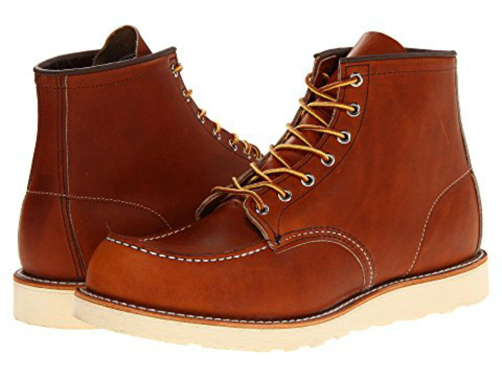 """Red Wing Heritage 6"""" Moc Toe boot"""