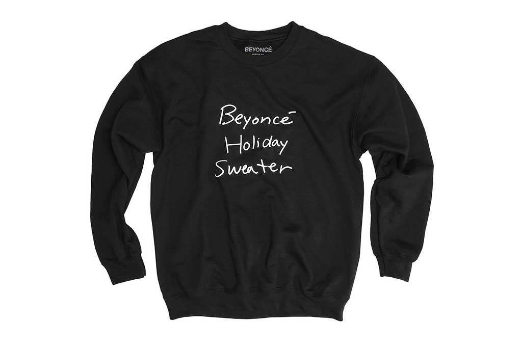 Beyoncé holiday capsule collection