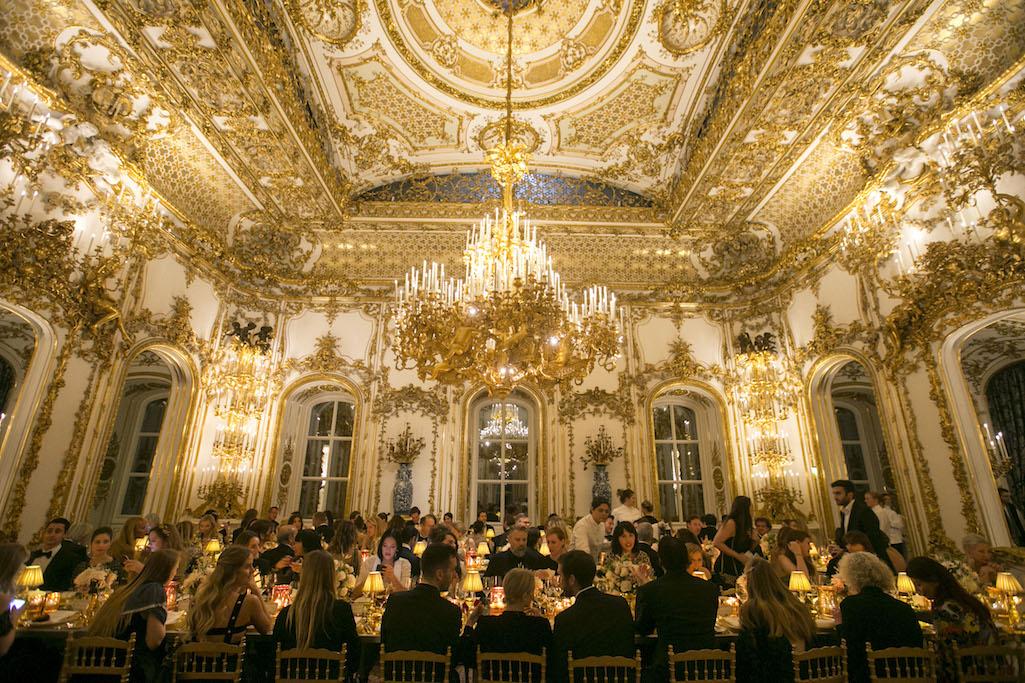 Aquazurra x Mytheresa.com 'Woman in Gold' dinner in Wien, Austria.