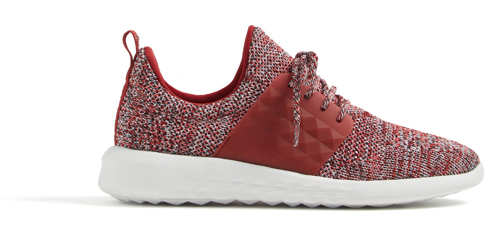 aldo mx sneakers red