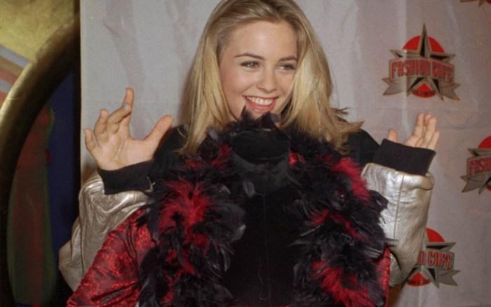 Alicia Silverstone, Azzedine Alaïa dress, clueless