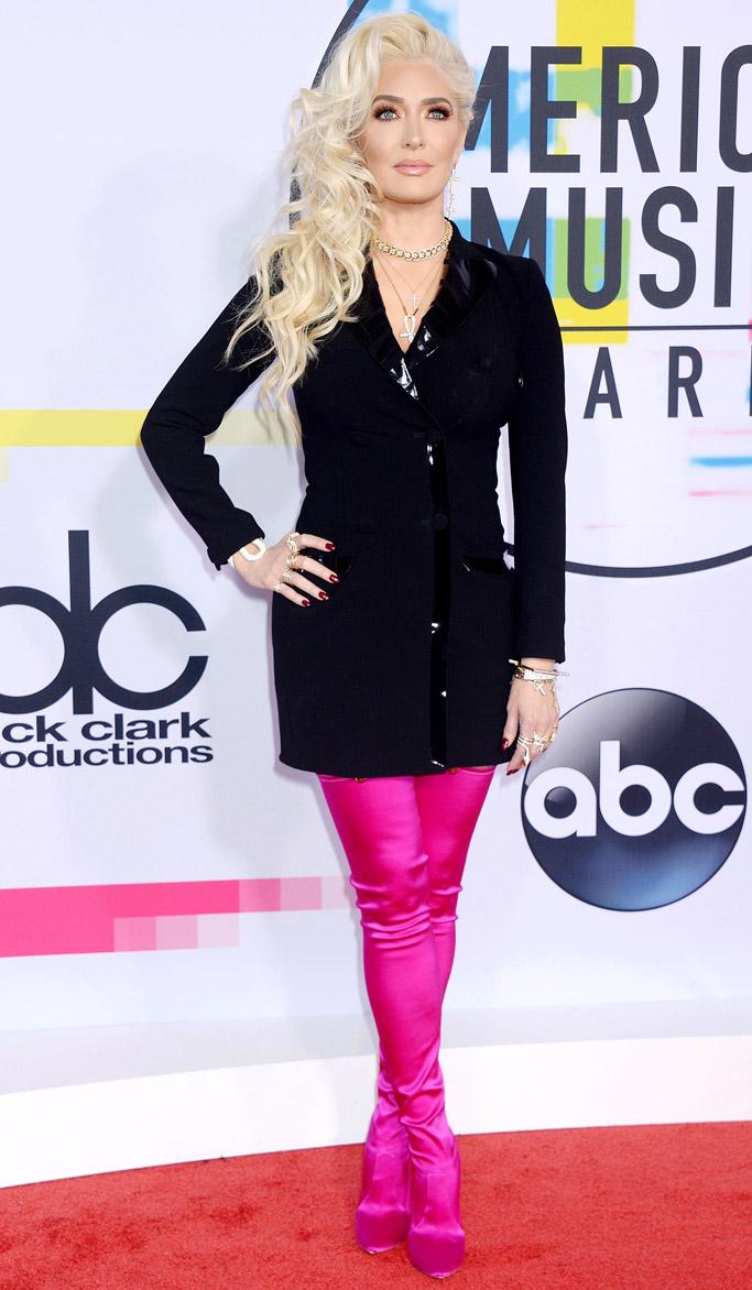 amas, american music awards 2017, red carpet, Erika Jayne