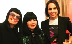 Norma Kamali, Anna Sui, Anne Fulenwider