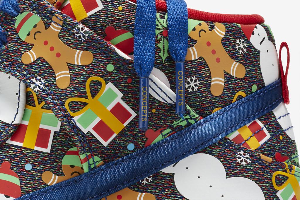 Concepts Nike SB Dunk 'Ugly Christmas