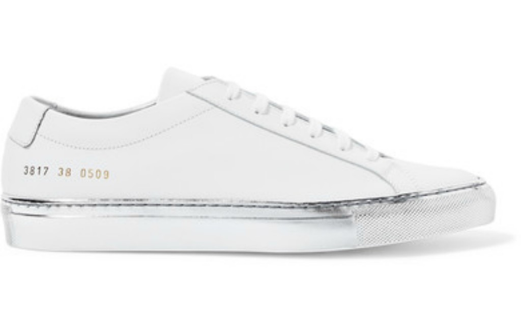 common projects Original Achilles metallic-trimmed leather sneakers