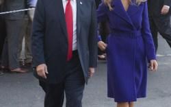 Melania Trump Leaves for Asia Trip