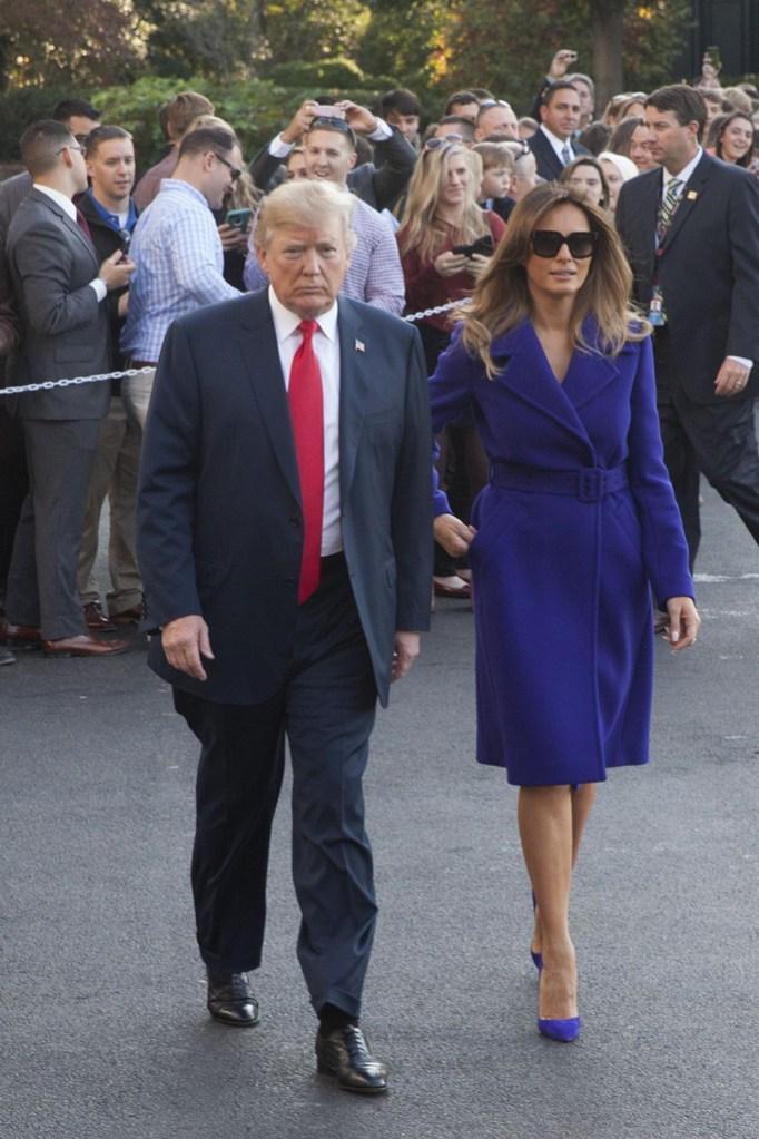 Melania Trump, Christian Louboutin, White House