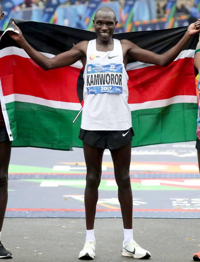 new york marathon, Geoffrey Kamworor of Kenya