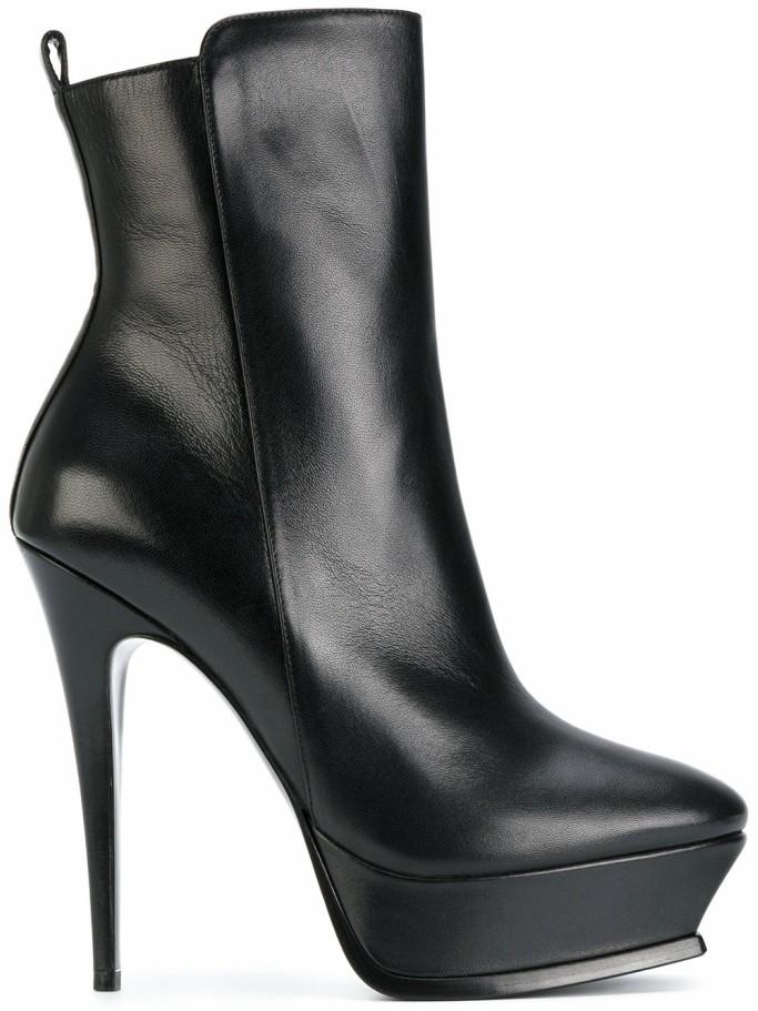 Saint Laurent Tribute Platform Ankle Boots