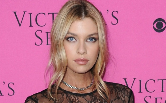 Stella Maxwell attends Victoria's Secret Fashion Show viewing party.
