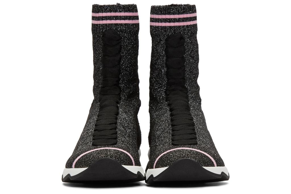 Fendi Lurex Sock High-Top