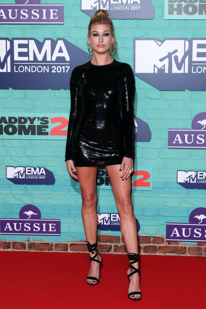 hailey baldwin, MTV's European Music Awards