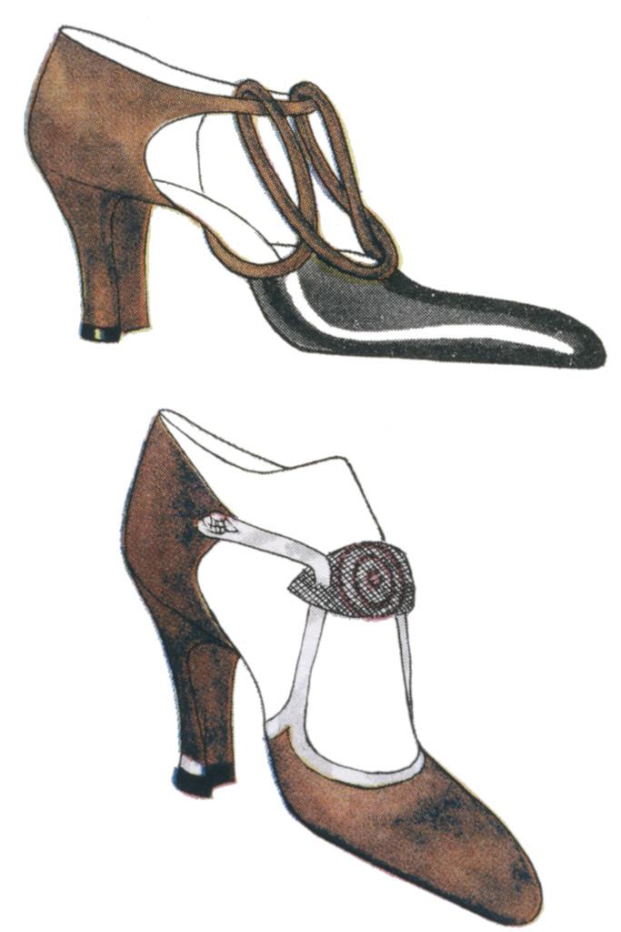 high heels, 1920s
