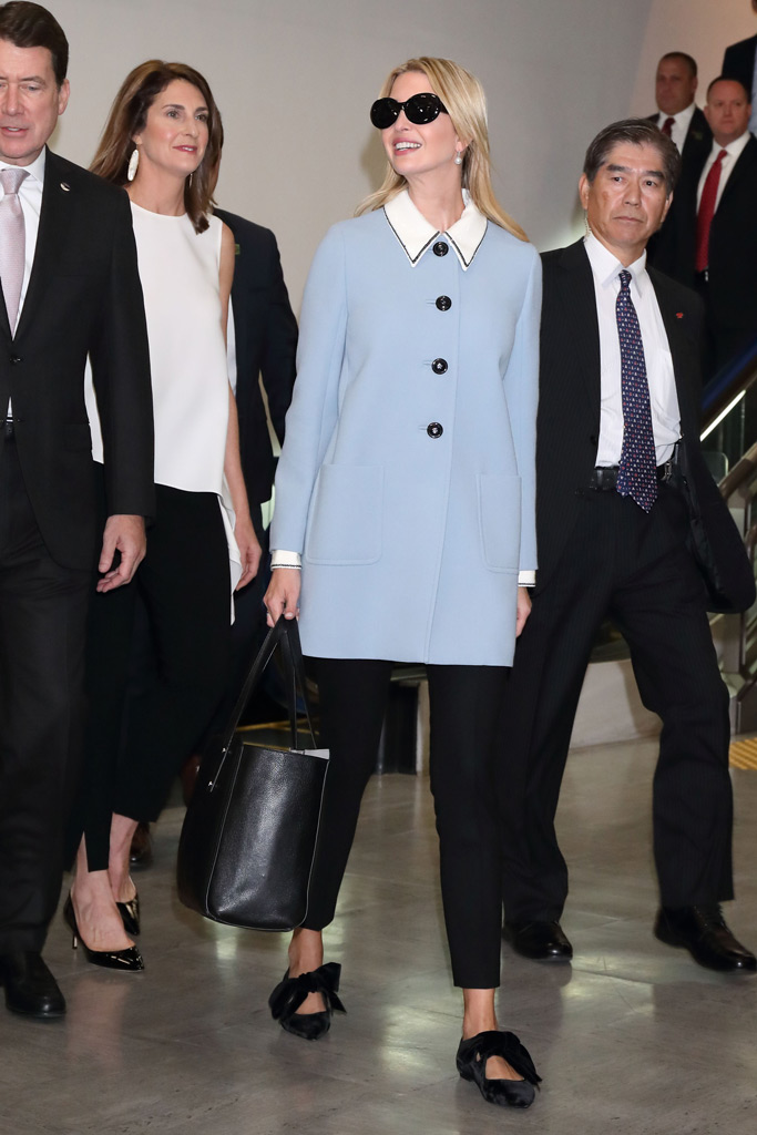 Ivanka Trump, Tory Burch, Japan