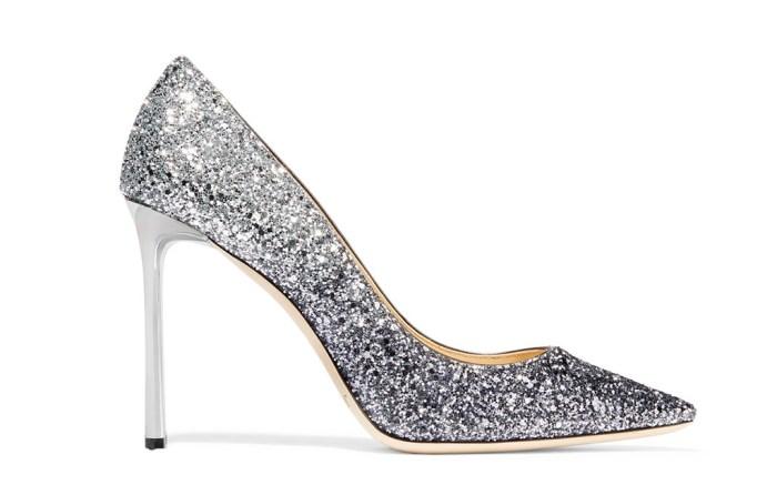 jimmy choo glitter shoes