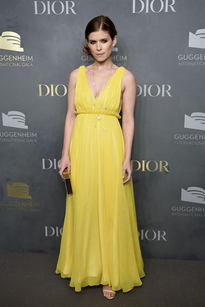 Kate Mara, Guggenheim International Gala