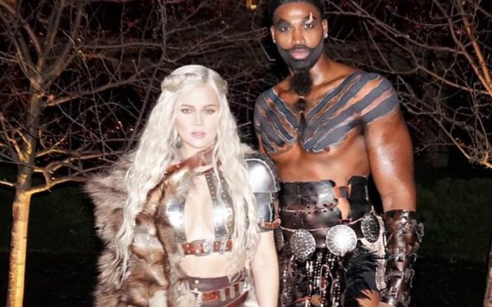 khloe kardashian halloween costume 2017 game of thrones tristan thompson
