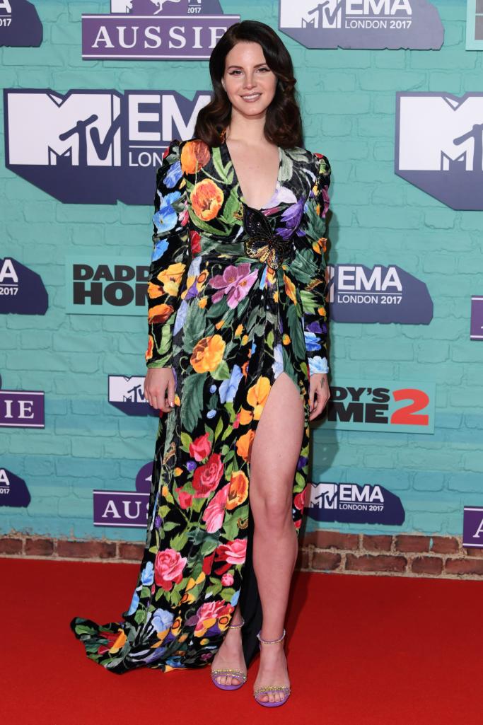 lana del rey, MTV's European Music Awards