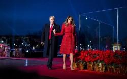 Melania Trump's Year in Louboutins