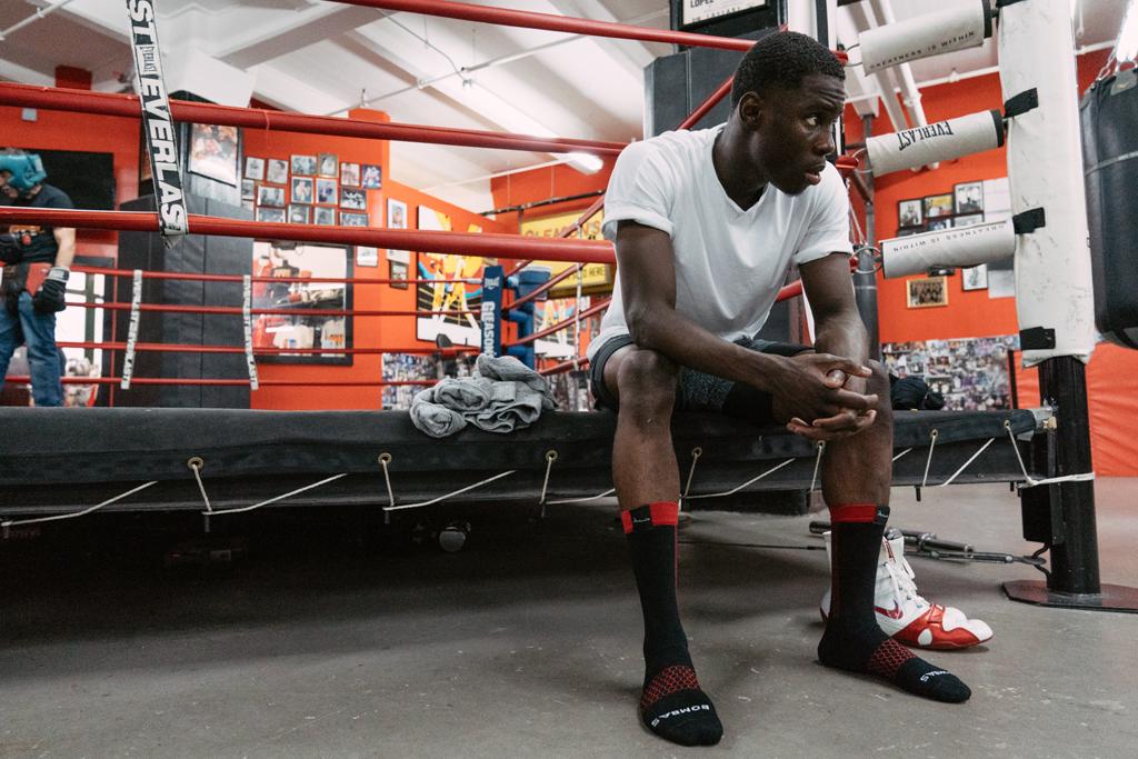 Muhammad Ali Bombas socks
