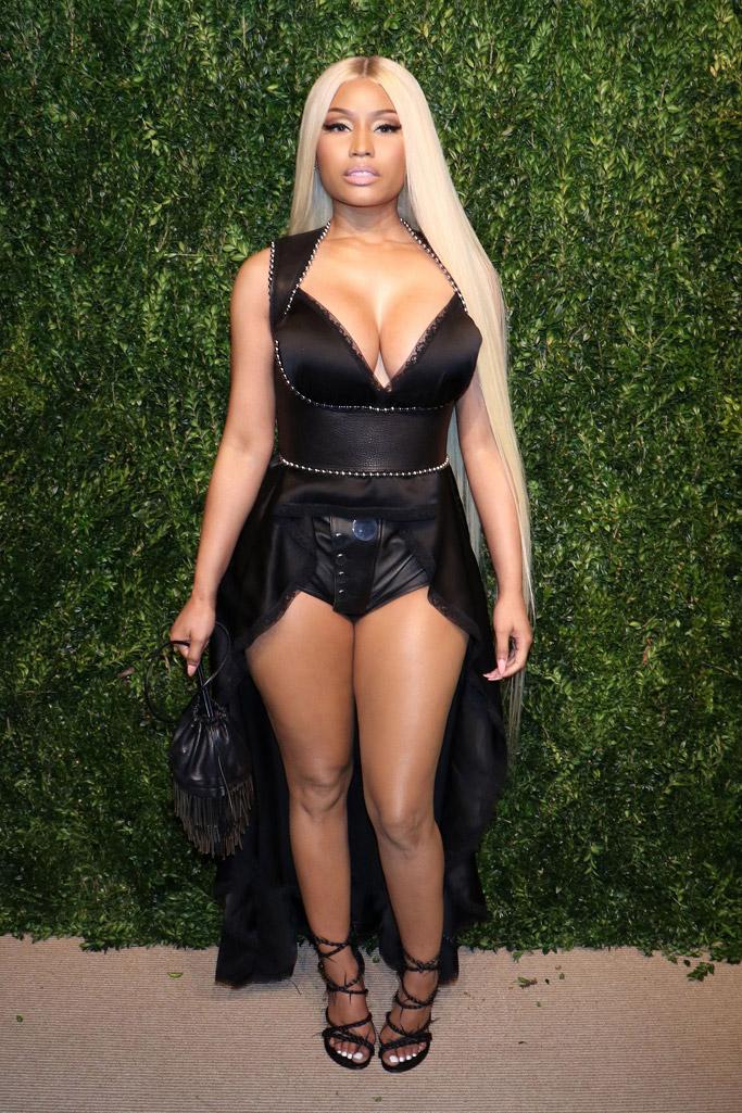 Nicki Minaj CFDA 2017 vogue fashion fund awards