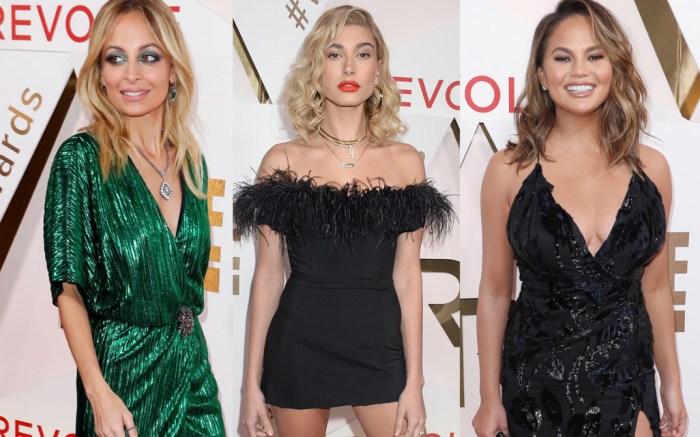 Celebs at the Revolve Awards