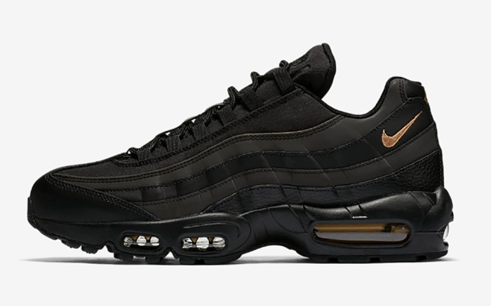 Nike Air Max 95 Premium Black and Gold