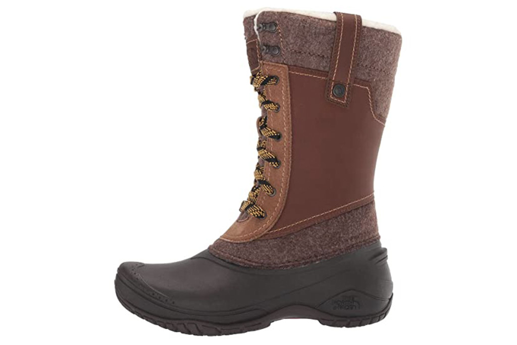 north face shellista boot, best winter boots for women, womens winter boots