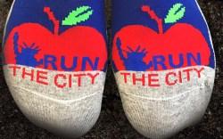 nyc marathon 2017 socks balega