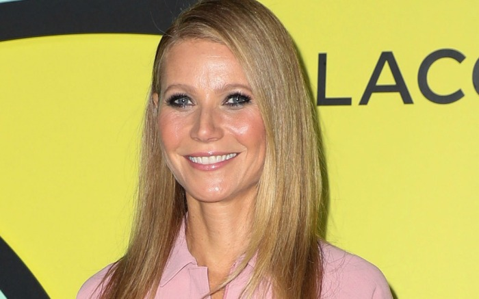 Gwyneth Paltrow attends Lacoste reopening celebration.