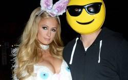 Chris Zylka, paris hilton halloween costume,