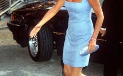 Princess Diana's Monochromatic Style