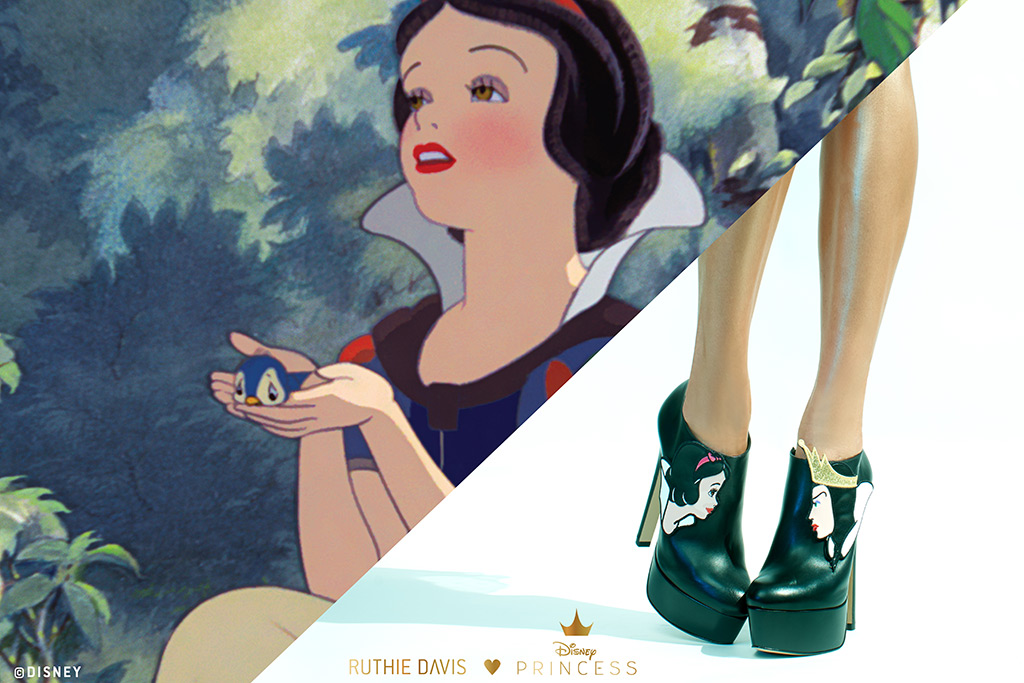 ruthie davis, disney, snow white, collaboration