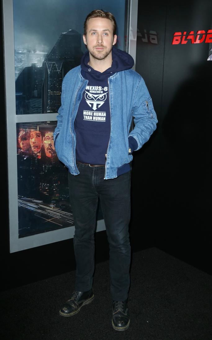 ryan gosling, CinemaCon, dr. martens