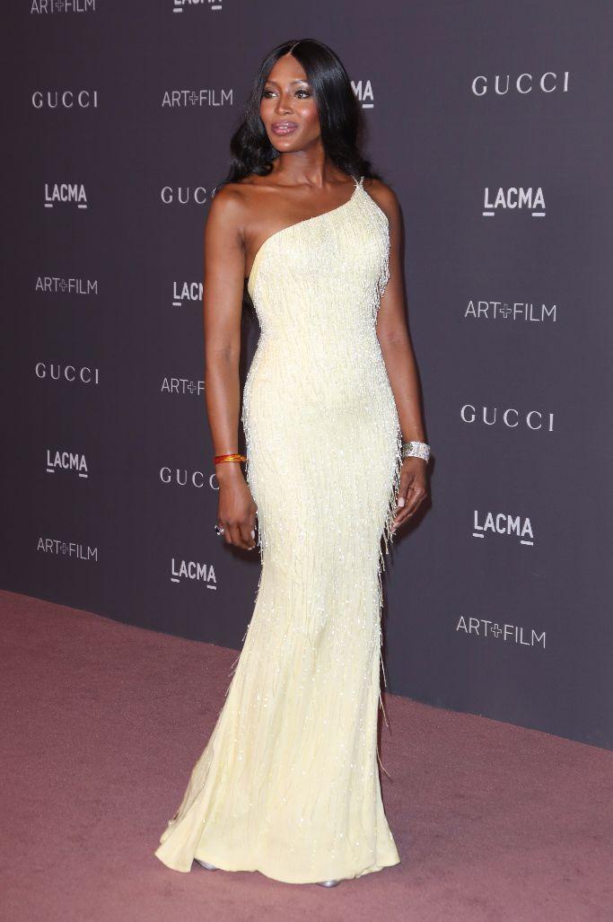 LACMA: Art and Film Gala, naomi campbell wearing versace