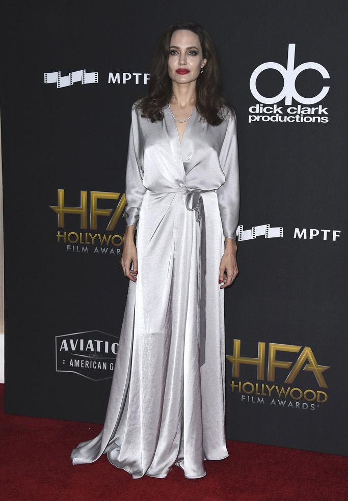 angelina Jolie hollywood film awards 2017