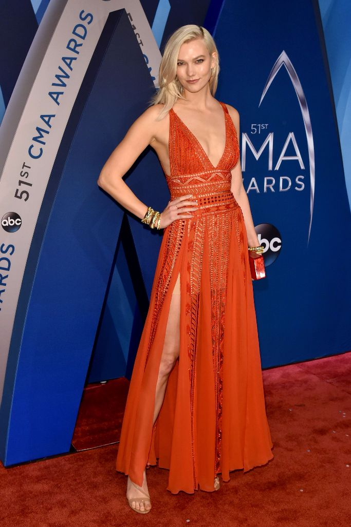 karlie kloss, 2017 cma awards