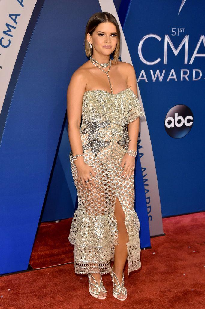 CMA Awards Red Carpet Arrivals, Maren Morris, sophia webster