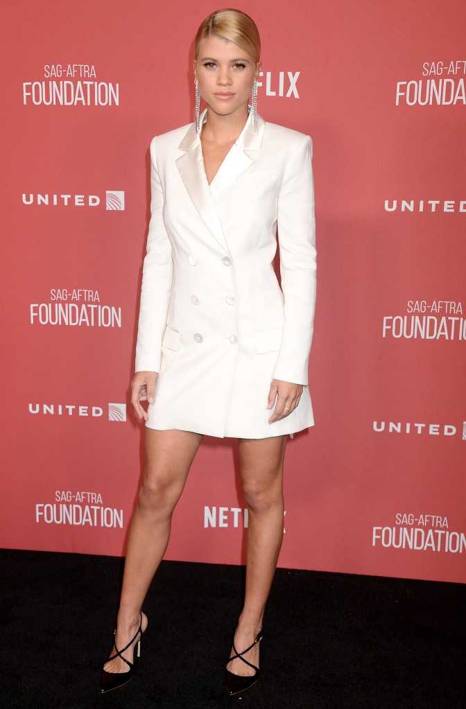 Sofia Richie attends SAG-AFTRA Foundation Patron of the Artists Awards.