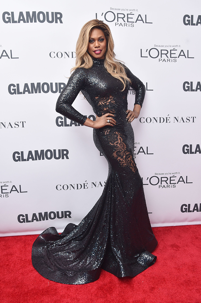 Laverne Cox, Glamour Women of the Year Awards