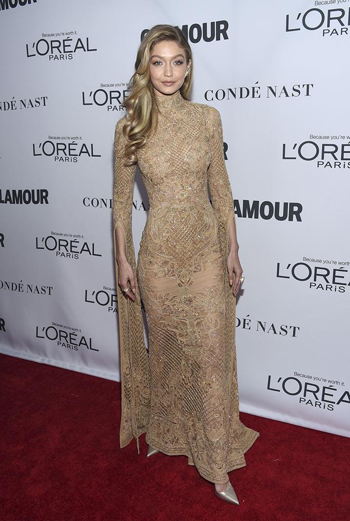 Gigi Hadid, Glamour Women of the Year Awards