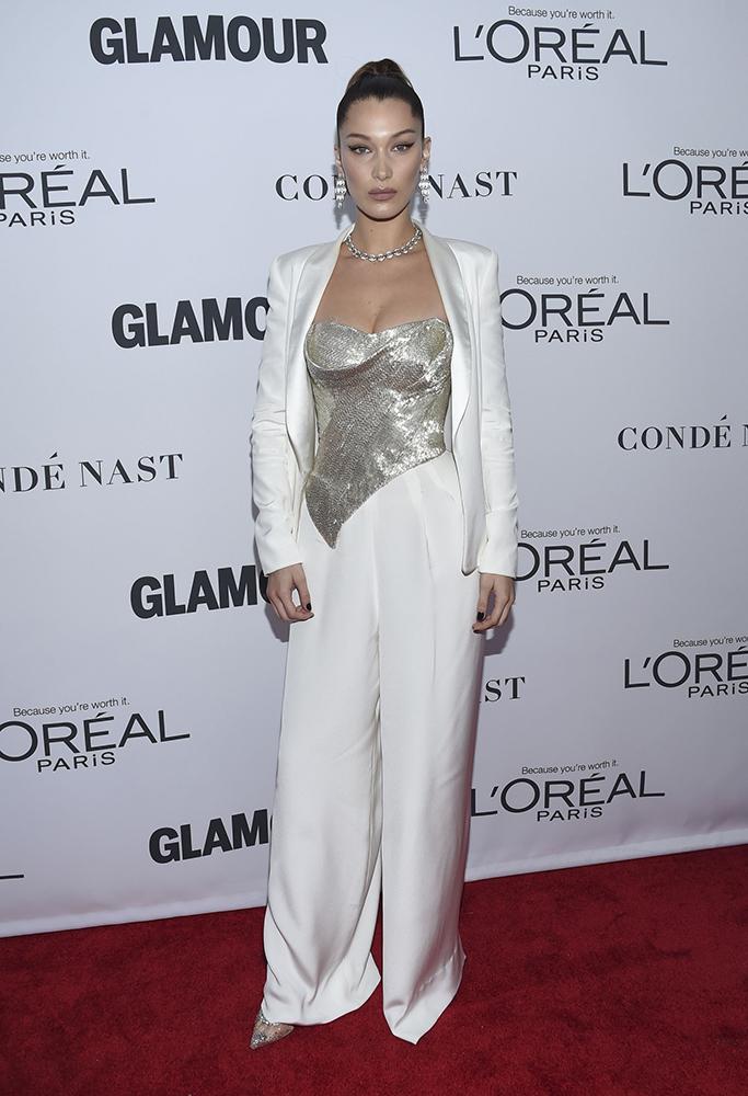 Bella Hadid, Glamour Women of the Year Awards