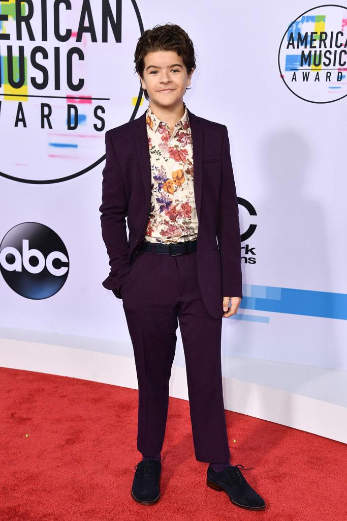 Gaten Matarazzo, amas, american music awards 2017, stranger things, red carpet